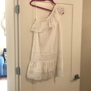 White Tory Burch dress